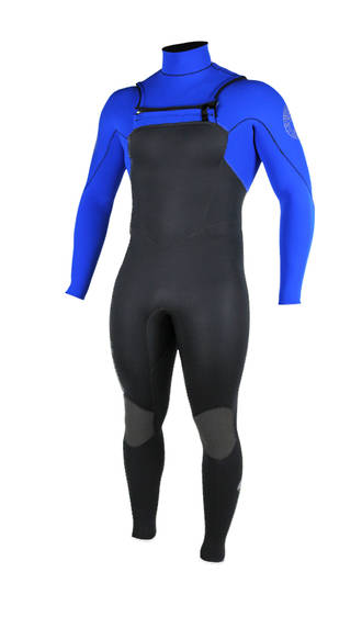 Enduro Mens Chest Zip Winter Wetsuit