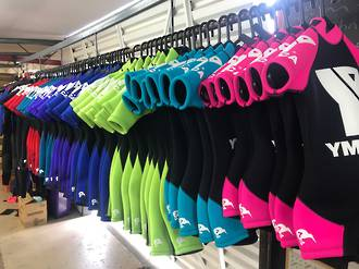 Custom Branded Commercial Wetsuits