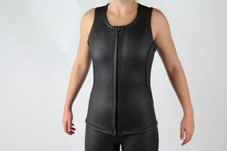 Women's 3mm Swim Tutor's Vest -  Front Zip