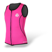 Women's 2mm Neoprene Front Zip Vest