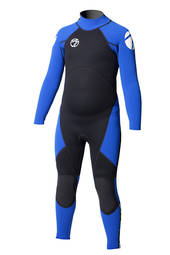 Kids Viper Superstretch 3/2 Back Zip Full Length Wetsuit