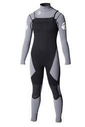 Kids Viper Superstretch Chest Zip 3/2 Full Wetsuit