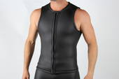 Men's 3mm Swim Tutor's Vest - Front Zip
