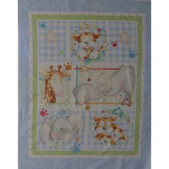 Baby Cot Panel - Blue