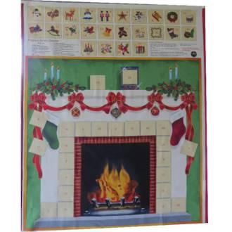 Fireplace Advent Calendar