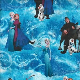 Frozen Character Scene