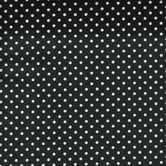 Dinky Dots on Black