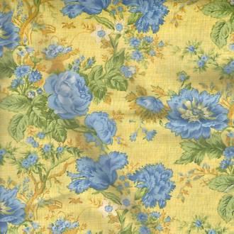 True Blue - Floral