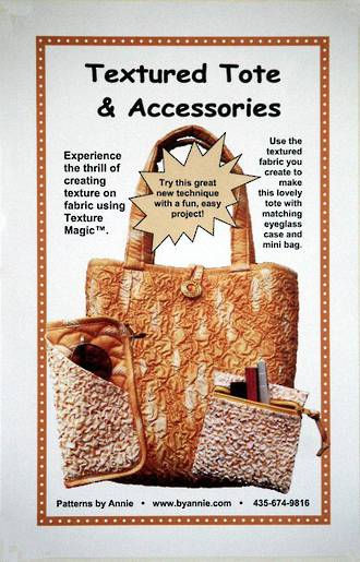 Textured Tote and Accessories