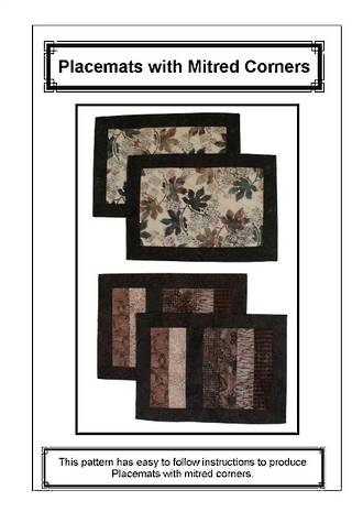 Placemats with Mitred Corners