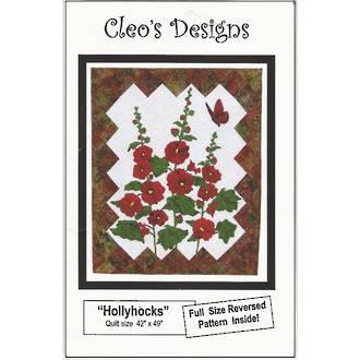 Hollyhocks - Cleo's Designs