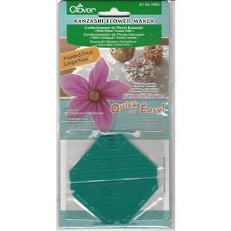 Clover Kanzashi Flower Maker - Pointed Petal/Large