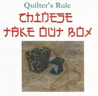 Chinese Take Out Box Template