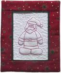 Redwork - Santa