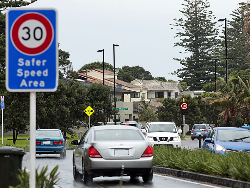 Orewa South drive test