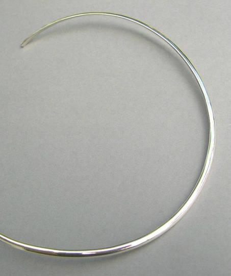 3mm Sterling Silver Collar