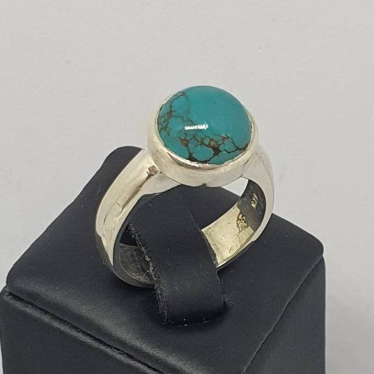 Sterling silver turquoise ring, NZ made