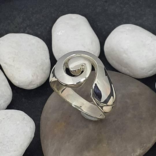 Sterling Silver Koru Ring