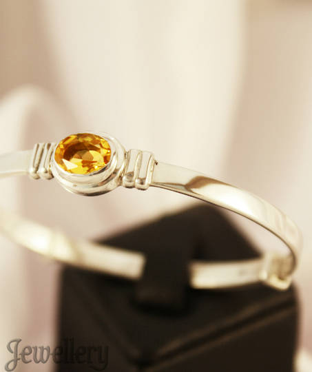 Golden Topaz For November Baby | Baby birthstone bracelet