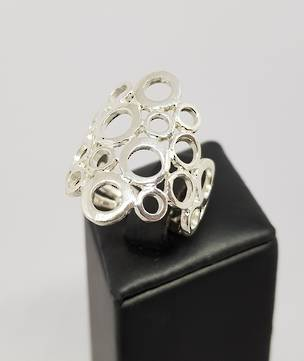 Sterling Silver Ring | Excellent middle finger ring