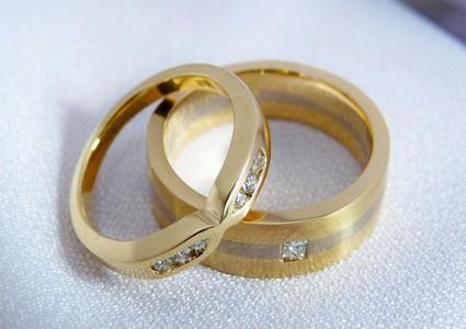 diamond wedders wedding band set