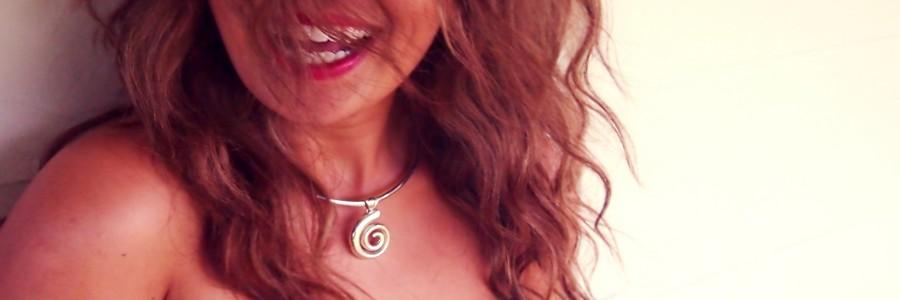 koru pendant made in NZ