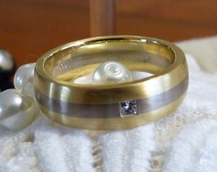 mens wedding band ring