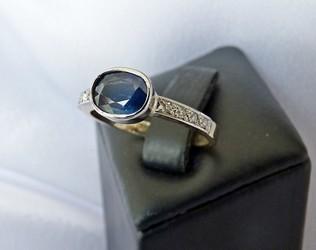 sapphire and diamond ring NZ