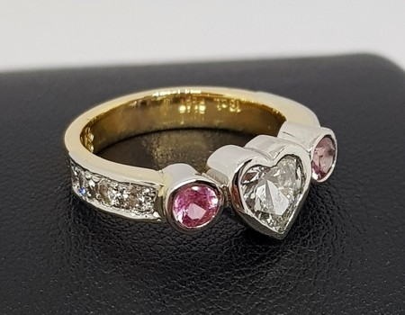 remodelled-pink-sapphire-gold-SilverStone jewellery-ring
