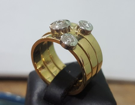 three-band-gold-ring-with-diamonds-made-in-NZ