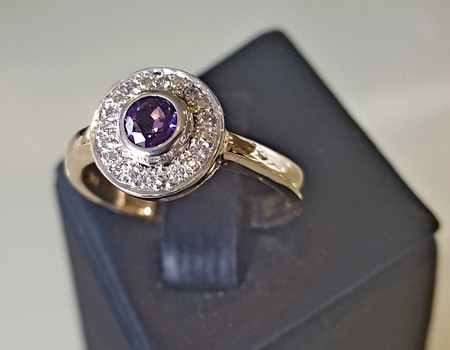 diamond-and-amethyst-cluster-ring-SilverStone-Jewellery