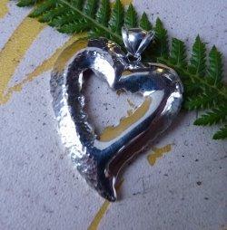 silver heart pendant SilverStone Jewellery 1