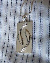 silver pisces pendant SilverStone Jeweller  1