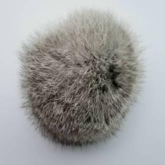 Hat Pom Pom - Silver