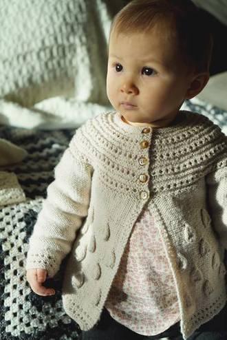 Baby Cakes Princess Georgiana Cardi 4 ply