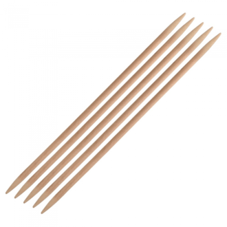 Knit Pro Basix Birch Double Pointed Needles - 4.5mm