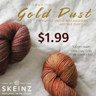 Gold Dust 4ply