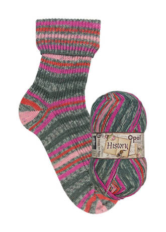 Opal Sock Print - History 9702