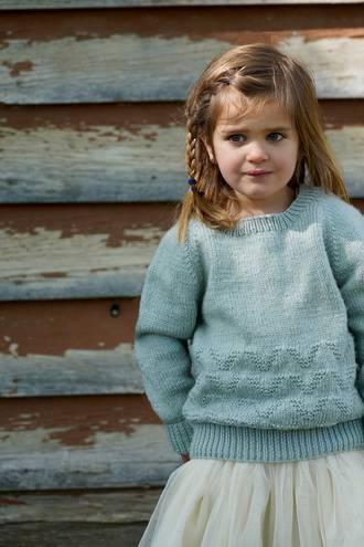 Little Cupcakes Oakley Sweater 8ply