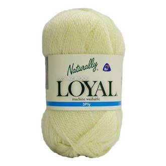 Loyal 3ply Wool Soft Lemon 203