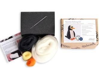 Ashford Wool Felting Kit - Penguin