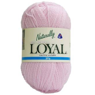 Loyal 3ply Wool Soft Pink 201