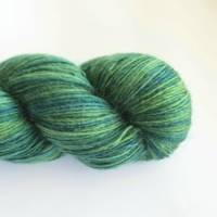 Ashton Merino Sock Singles - Green