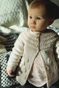 Baby Cakes Princess Georgiana Cardi 4 ply