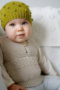 Baby Cakes Phoenix Vest and Hat 8 ply
