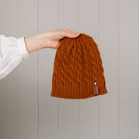 Hipi Cable Hat - Tobacco Size 2