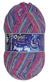 Opal Sock Print - Magic Sky 9800