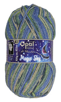 Opal Sock Print - Magic Sky 9801