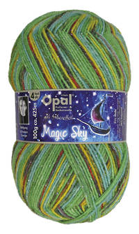Opal Sock Print - Magic Sky 9802