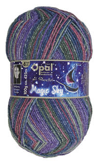 Opal Sock Print - Magic Sky 9804